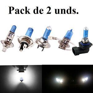 Bombillas-luz-blanca-H4-H7-H8-H11-Halogenas-y-LED-Xenon-Coche-Moto