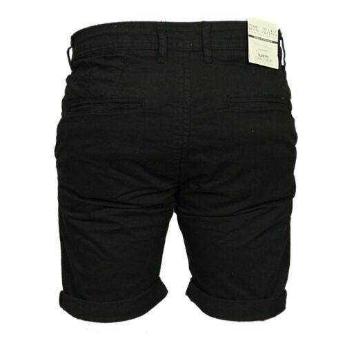 NEW MENS DML CHINO SHORTS STRETCH SLIM FIT IN GREY BLACK BROWN COLOURS