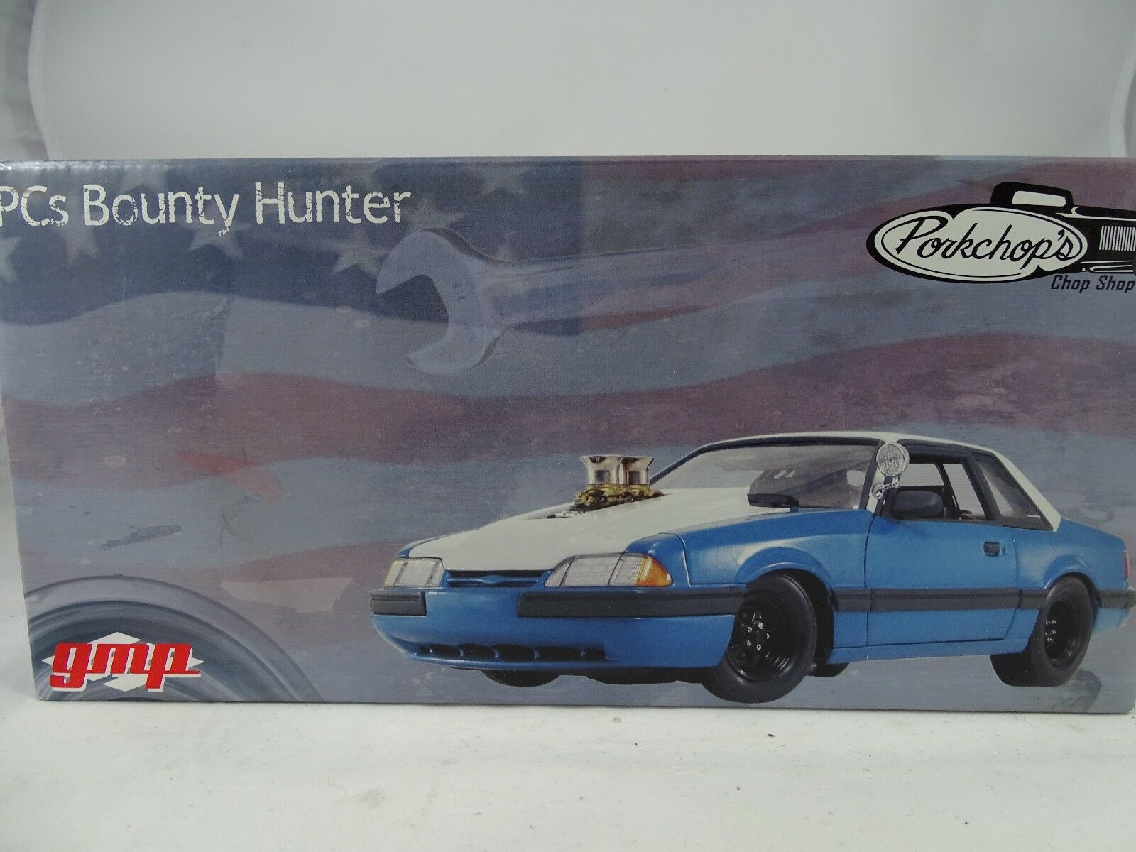1 18 Gmp  6003 Ford Pzs. Bounty Hunter Collar de Pork Chop - Rareza