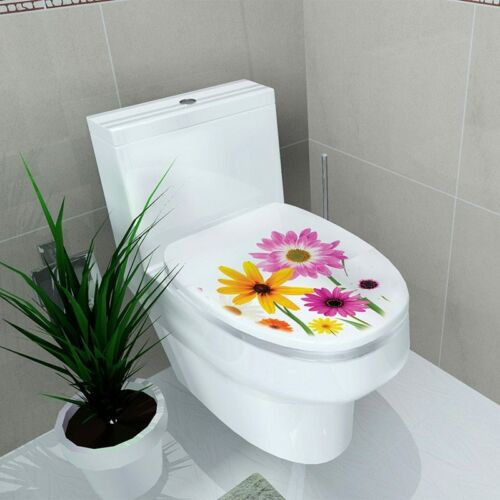 Details about  /3D Animal Wall Sticker Wallpaper On the Toilet Seat European and American Decals