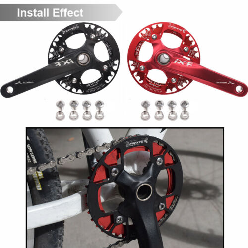 UK 32////34//36//38//40//42T MTB Bike 104BCD Chainring//Crank Protect Cover Chain Guard