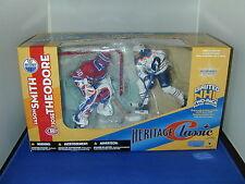 NHL MCFARLANE 2003 HERITAGE CLASSIC 2 PK JOSE THEODORE JASON SMITH HABS OILERS