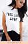 Womens-Yves-Saint-Love-Slogan-Print-Round-Neck-Short-Sleeve-Top-Ladies-T-Shirt thumbnail 4