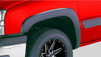Truck Suv Chevy Gmc Front And Rear Fender Flares Full 4 Pc Set