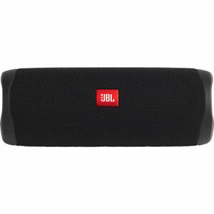 JBL Flip 5 Portable Waterproof Bluetooth Speaker (Black)