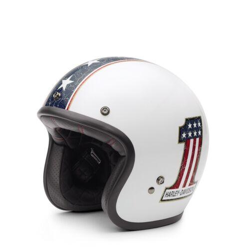 61-62 cm Harley-Davidson Americana Retro 3//4 Jet Helm * Gr Jethelm XL = ca
