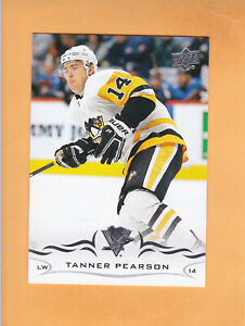 2018-19-UPPER-DECK-UPDATE-501-TANNER-PEARSON-PITTSBURGH-PENGUINS