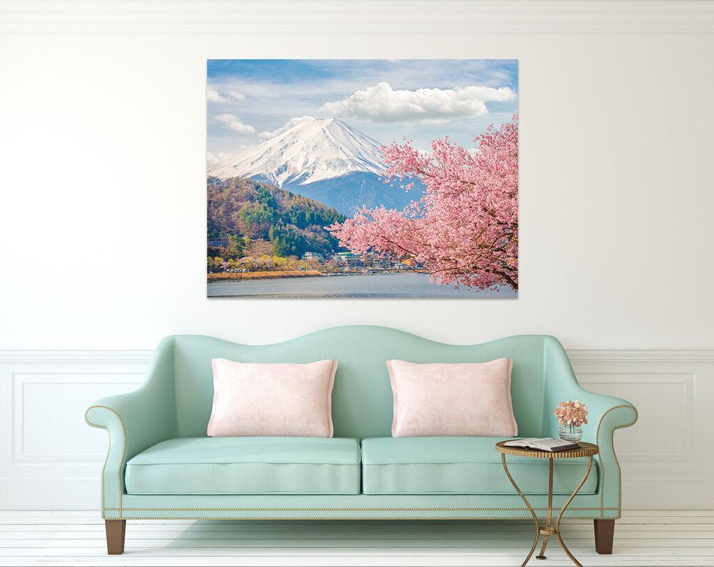 3D Hohe Berge und bluemen 36 Fototapeten Wandbild BildTapete Familie AJSTORE DE