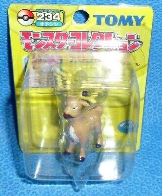 "Pokemon Remoraid 2/"" Figure OOP Japan Import Takara Tomy Yellow Series #223"