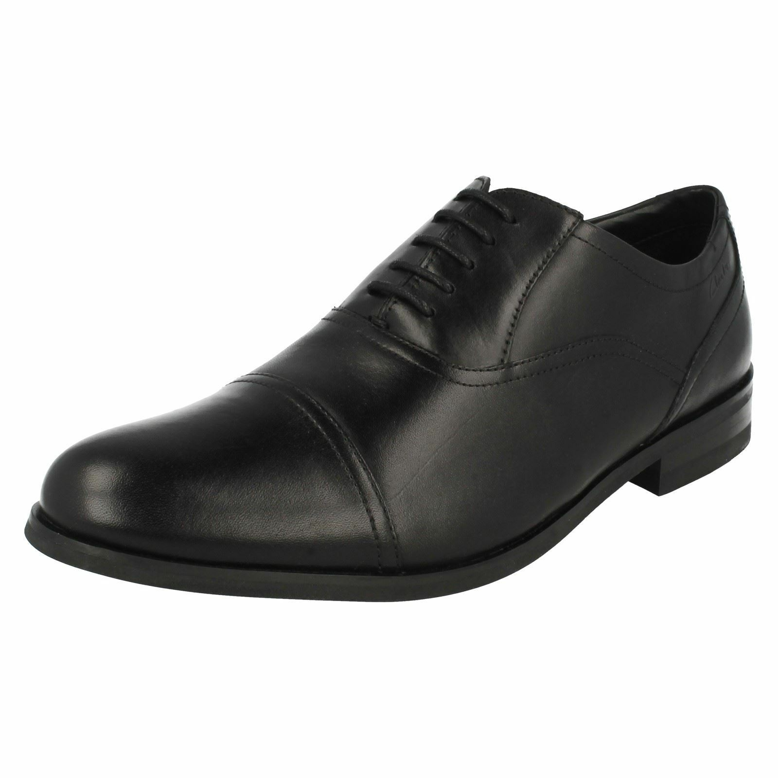 Clarks Mens Formal Lace Up Shoes Brint Cap