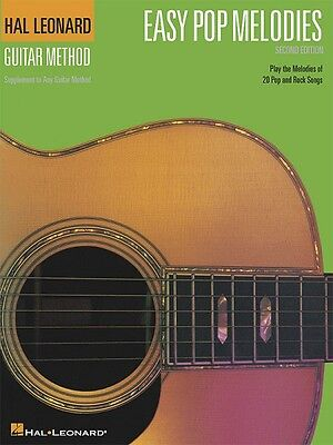 Book Guitar Method New 000697281 To Adopt Advanced Technology Musical Instruments & Gear Objective Easy Pop Melodies 2nd Edition Instruction Books, Cds & Video