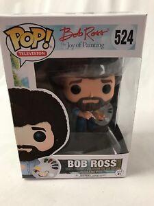 Funko-Pop-524-Bob-Ross-The-Joy-Of-Pintar-Figura-Vinilo-Nuevo