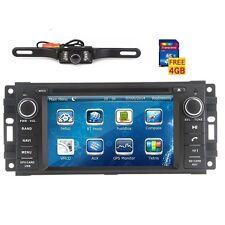 Car Radio Stereo for Chrysler/Jeep/Dodge RAM DVD GPS Sat Navi Headunit + Camera