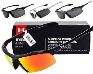 4b124dc600161 NEW UNDER ARMOUR ZONE   ZONE XL SUNGLASSES Black frame   Grey lens ...