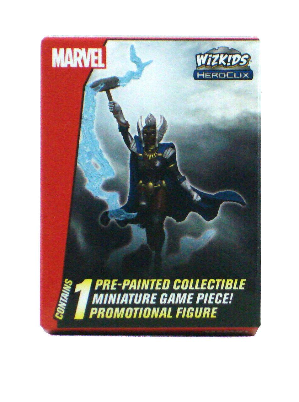 Tormenta de Marvel Heroclix Thor moljnir MP19-006 Convención Exclusiva Edición Limitada WKO Promo