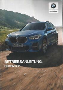 BMW-X1-F48-Betriebsanleitung-2019-Bedienungsanleitung-Handbuch-BA