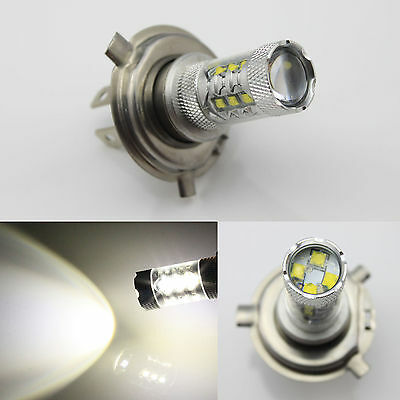 80W H4 Motorcycle Bike 800LM CREE LED HeadLight H/L Head Beam Lamp bulb White