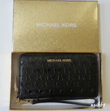 1e5d0b37e852 item 3 NWT MICHAEL KORS Giftables Jet Set Large Flat MF PHN Case Wallet  Wristlet Black -NWT MICHAEL KORS Giftables Jet Set Large Flat MF PHN Case  Wallet ...
