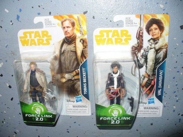 Star Wars Solo Force Link 3 3//4-Inch Action Figure Tobias Beckett