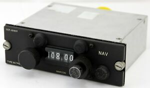Marconi-Airliner-NAV-selector-panel-type-743-GC10