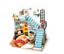 Indexbild 98 - DIY Kit Bausatz für Miniaturhaus DG1XX Bastelset Puppenhaus Robotime Rolife