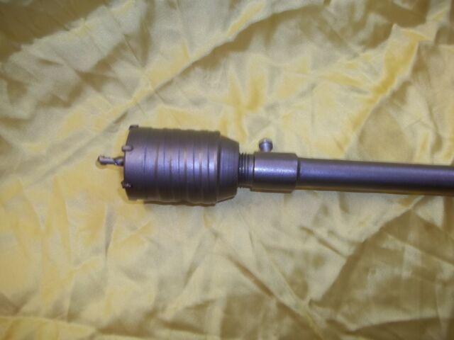 FRESA A TAZZA 50mm CAROTATRICE CON ASTA SDS PLUS 35cm  CALCESTRUZZO CEMENTO