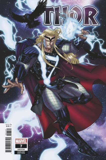 🔥🔥 THOR #7 (MARVEL,2020) BLACK WINTER (CATES) 1:25 SHARP VARIANT NM 🔥