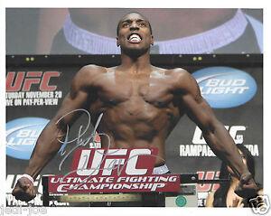 Phil-Davis-UFC-Signed-Autograph-8x10-Photo-MMA