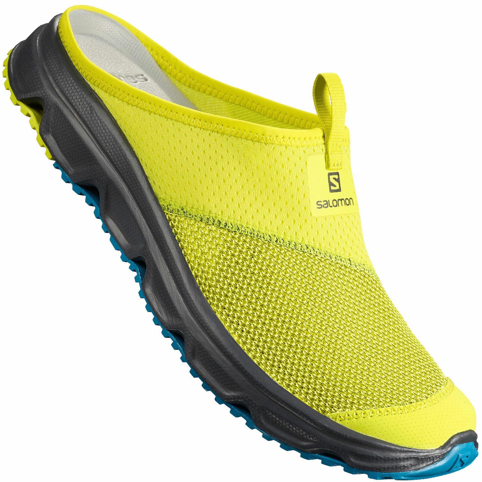 salomon rx slide 3.0 slipper clogs gold