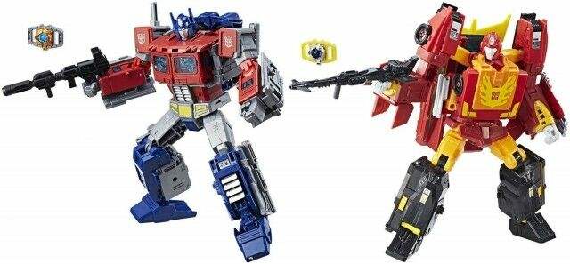 Transformers Power of the Primes - Leader Wave 1 - Optimus & Rodimus Prime