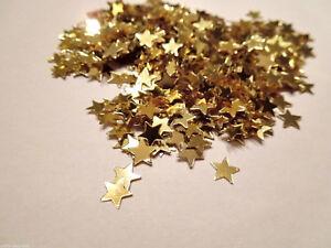 100-Sterne-Streudeko-Tischdeko-Basteln-Kartengestaltung-Gold-ca-6mm