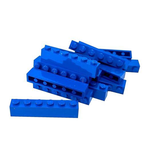 15 NEW LEGO Brick 1 x 6 BRICKS Blue