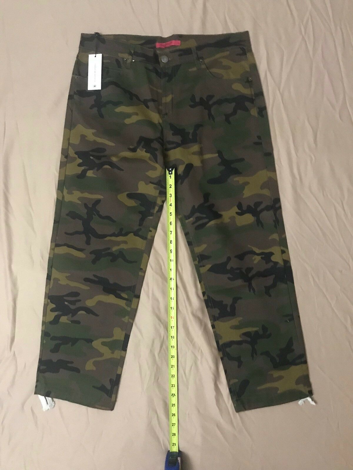 Camo Thread Workshop Pants , Size 38 New With Tags