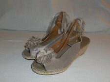 c69454ebd4e Clarks Petrina BIANCA Espadrille (2.5 INCH) Wedge Sandals BRONZE Metallic  10 M