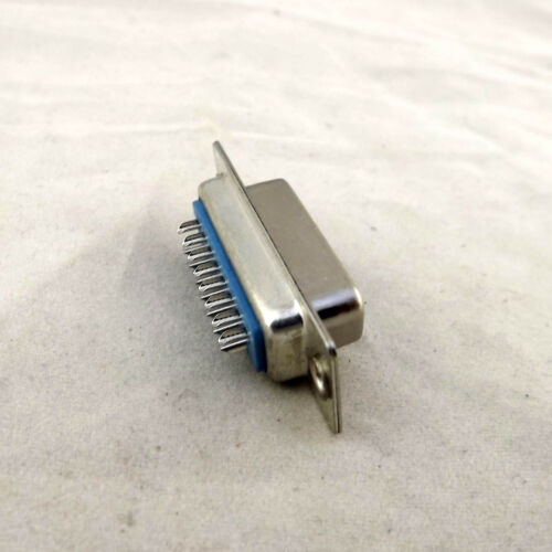 1x D-SUB DB15 2 Rows 15 Pin Female Socket Solder Type Adapter Connector Plastic