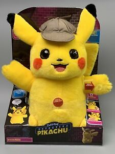 Pokemon-Detective-Pikachu-Movie-12-Talking-Plush-2-Mode-2019-Wicked-Cool-Toys