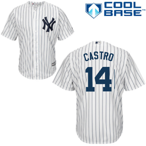 Details about Starlin Castro Youth Jersey - NY Yankees Replica Home Jersey- XL 18/20