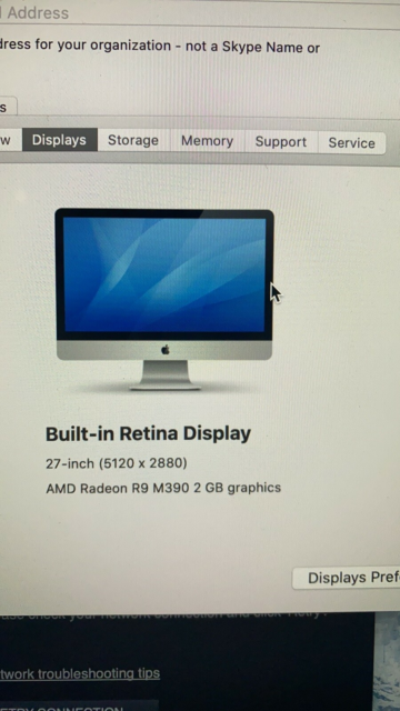 iMac, Late 2015, 3,2 Intel Core i5 GHz, 8 GB ram, Perfekt,…