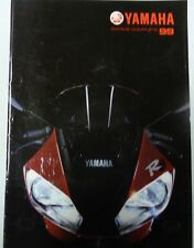CATALOGUE PROSPECTUS YAMAHA 1999 GAMME COMPLETE MOTO QUAD SCOOTER CROSS TRAIL