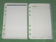 Compact 50 Pages Variety Lined Note Sheets Franklin Covey Planner Refill Fill