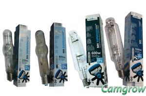 1000W  SuperVeg Metal Halide Bulb Hydroponics 400W 600W PowerPlant MH 250W
