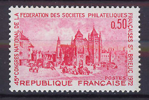 FRANCIA-FRANCE-1972-MNH-SC-1344-French-Philatelic-Societies