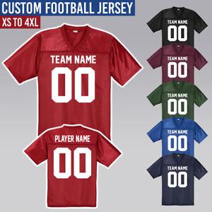 Custom-Football-Jersey-Men-039-s-Mesh-Jerseys-XS-4XL-Halloween-Costume