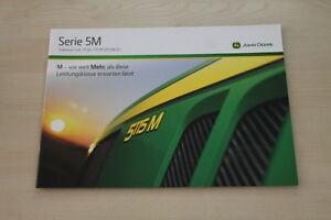 157171) John Deere 5075 5085 5100 5115 M Prospectus 09/2013-afficher Le Titre D'origine