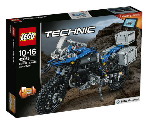 LEGO TECHNIC - 42063 - BMW R 1200 GS ADVENTURE- BRAND NEW & FACTORY SEALED