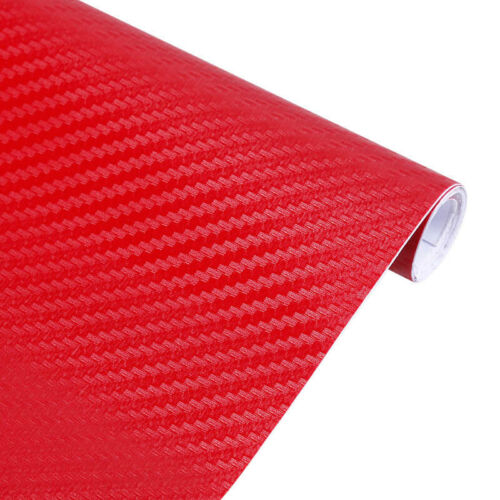 100 40cm Auto DIY 3D Carbon Fiber Vinyl Autofolie Folie Film Sticker Aufkleber