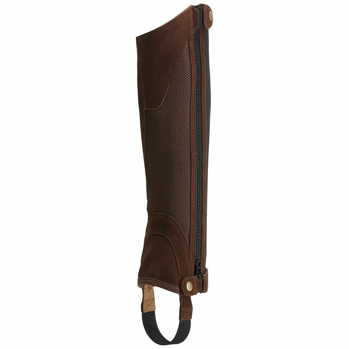 Ariat Unisex Terrain II Chap Half Chaps - Distressed Small Braun - Größe Small Distressed 208fab