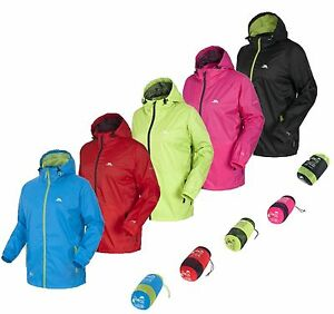 RRP £49.99 TRESPASS MENS / LADIES LIGHTWEIGHT PACKABLE WATERPROOF