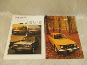 Volvo-Car-Sales-Brochures-1976-1977-Vintage-Automotive