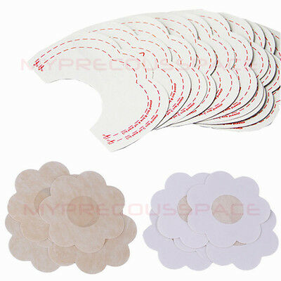 20Pcs Instant Lift Breast Boob Shape Enhancer Invisible Bra Tape+Nipple Cover UK